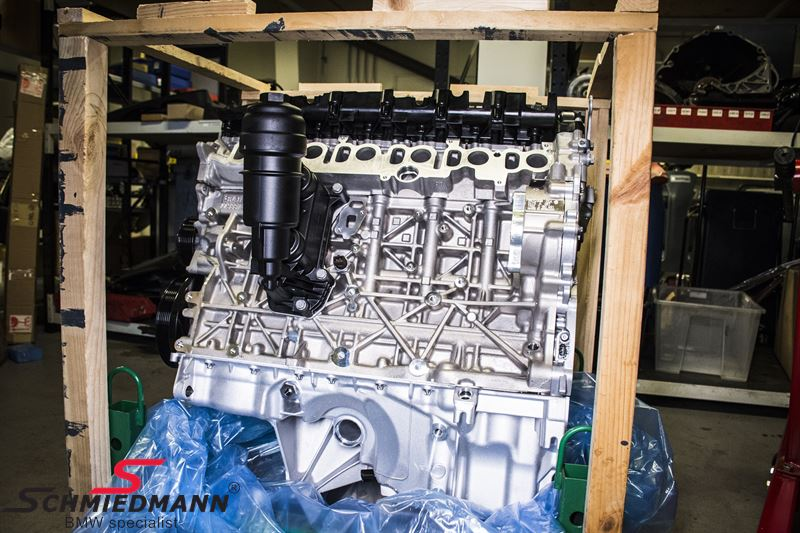 Ombytnings diesel motor N57D30B - original BMW