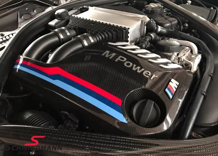 Motorafdækning ///M-Performance, ægte carbon