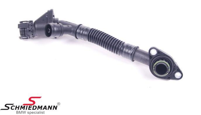Slange til krumtaps-udluftning, øverste cylinder 5-8