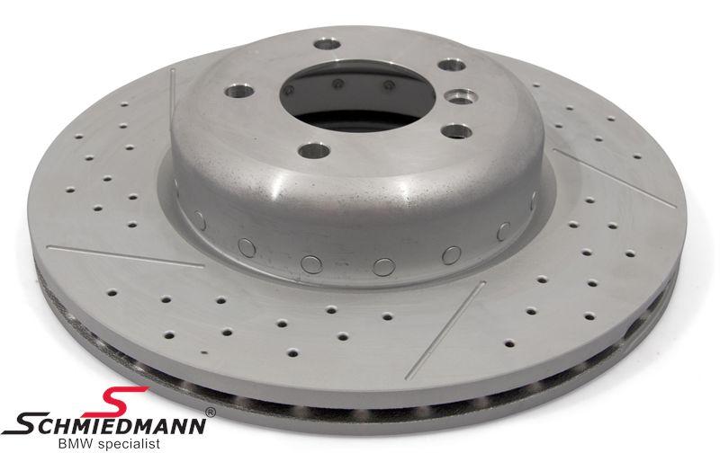 Bremseskive 338x26MM -BMW Performance- ventilerede (Bemærk pris pr. stk.)