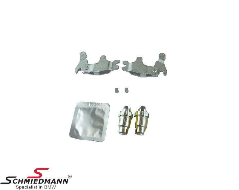 Håndbremse-aktivator låse+Justérskruer sæt til håndbremsebakkerne - Schmiedmann sæt