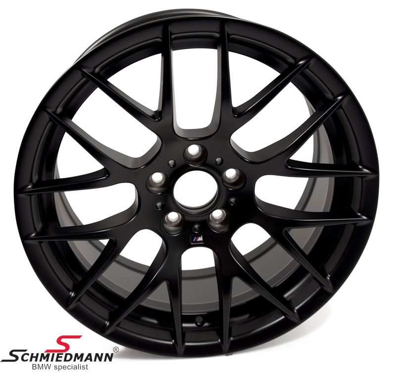 "19"" M3 Competition mat sort M, Y-Speiche 359 fælge 9X19 (original BMW)"