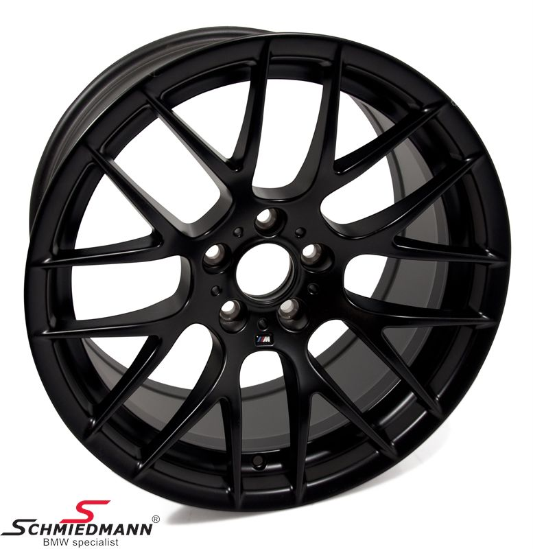 "19"" M3 Competition mat sort M, Y-Speiche 359 fælge 10X19 (original BMW) (passer kun bag)"