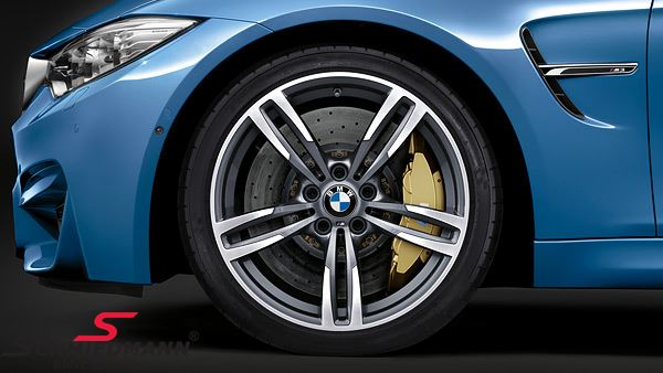 "19"" M-Doppelspeiche 437M fer.grey, fælg 9X19 ET29 - original BMW"
