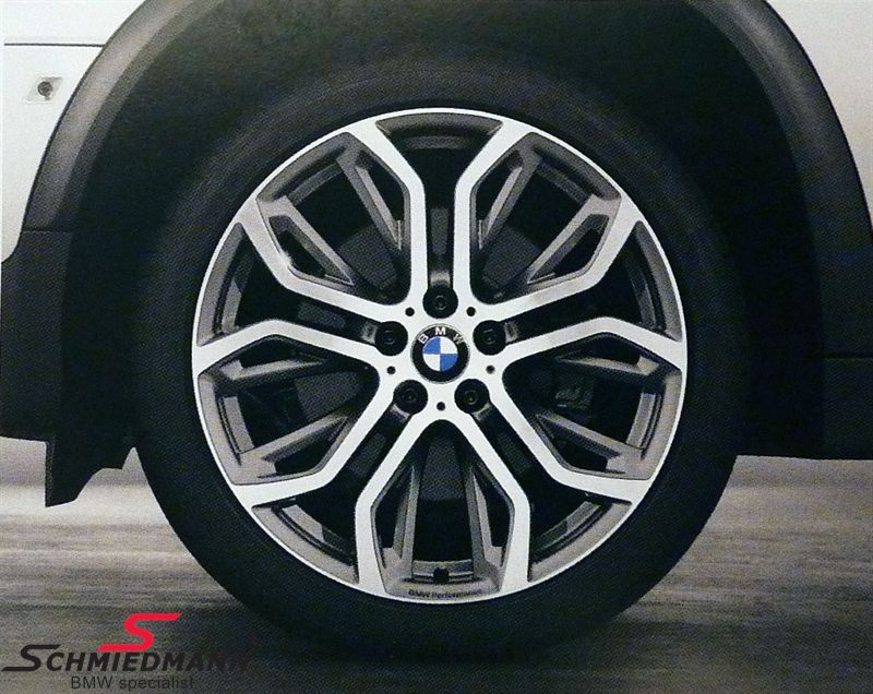 "21"" Performance Y-Speiche 375 fælge 10X21 (original BMW)"