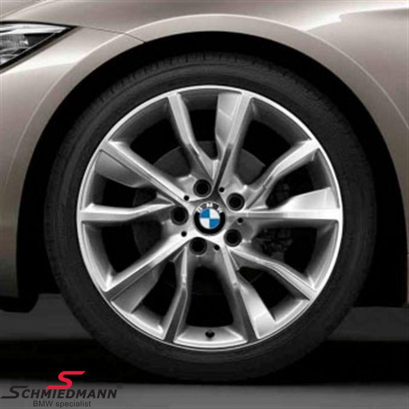 """19"""" Turbinenstyling 402, glanzgedreht fælge 8,5X19 (original BMW passer kun bag)"""