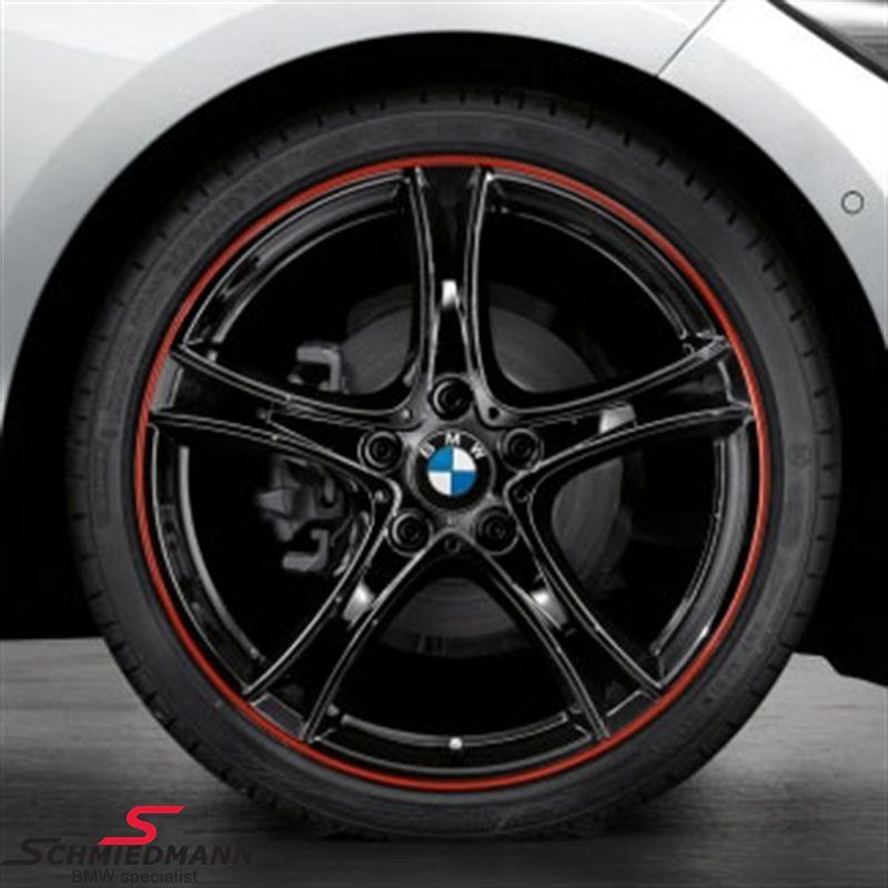 """20"""" M-Doppelspeiche 361 schwarz, fælg 8X20 (original BMW)"""