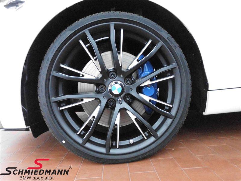 """20"""" M-Doppelspeiche 624 schwarz matt, fælg 8.5X20 (original BMW passer kun bag)"""