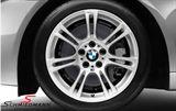 """18"""" M-Doppelspeiche 350 fælge 9X18 (original BMW) (Passer kun bag)"""