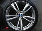 """19"""" M-Doppelspeiche 442 glanzgedreht, fælge 8,5X19 (original BMW passer kun bag)"""