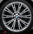 """19"""" Individual V.-Speiche 626 glanzgedreht, fælg 8X19 (original BMW)"""