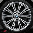"19"" Individual V.-Speiche 626 glanzgedreht, fælge 8,5X19 (original BMW passer kun bag)"