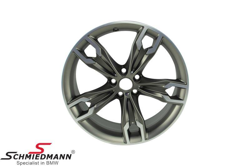 "20"" Doppelspeiche 668M Titanium mat, fælg 8,0X20 ET30 (original BMW)"
