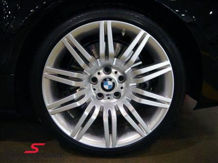 """19"""" BMW M-Doppelspeiche 172 fælge 9,5X19 (passer kun bag) (original BMW)"""