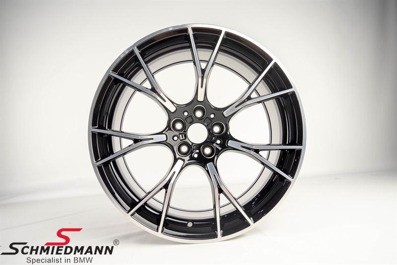 """20"""" Y-speiche 789M Jet black uni, fælg 10,5X20 ET28 (original BMW) (Passer kun bag)"""