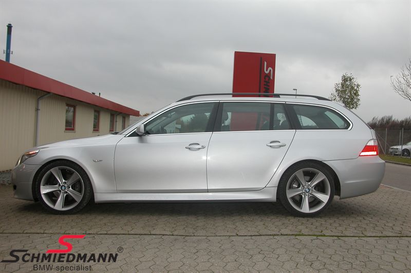 "19"" 8,5+9,5x19 Sternspeiche 128 alufælge sølv m.245/35+275/30/19 (original BMW)"