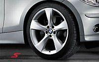 """19"""" 8+9x19 alufælge BMW Sternspeiche 311 m.225/35+255/30/19 (original BMW)"""