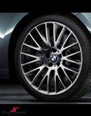 """20"""" 8,5+9x20 Kreuzspeiche 312 ferricgrey alufælge m.245/35+275/30/20 (original BMW)"""