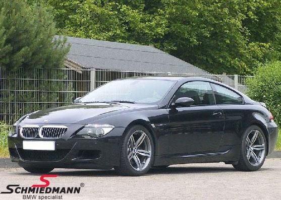 "19"" 8,5+9,5x19 M6 Doppelspeiche 167 alufælge poleret m.245/35+275/30/19 (original BMW)"