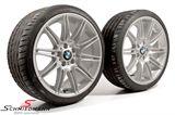 """19"""" 8+9x19 M-Doppelspeiche 225 mit 225/35+255/30/19 (original BMW)"""