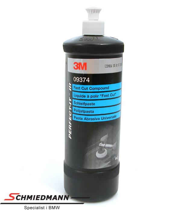 Polerings-middel med meget slibemiddel 3M fast cut compound 1L dunk