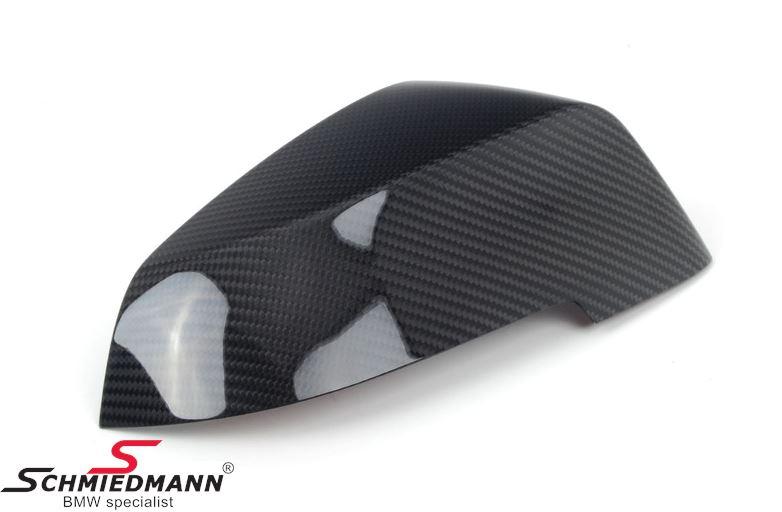 Sidespejl-cover original -BMW ///M Performance- ægte carbon H.-side