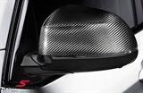 Sidespejl-cover original -BMW ///M Performance- ægte carbon V.-side