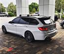 Bagrude-vinge -BMW ///M-Performance- -Throughflow- mat sort (skal ikke lakeres)