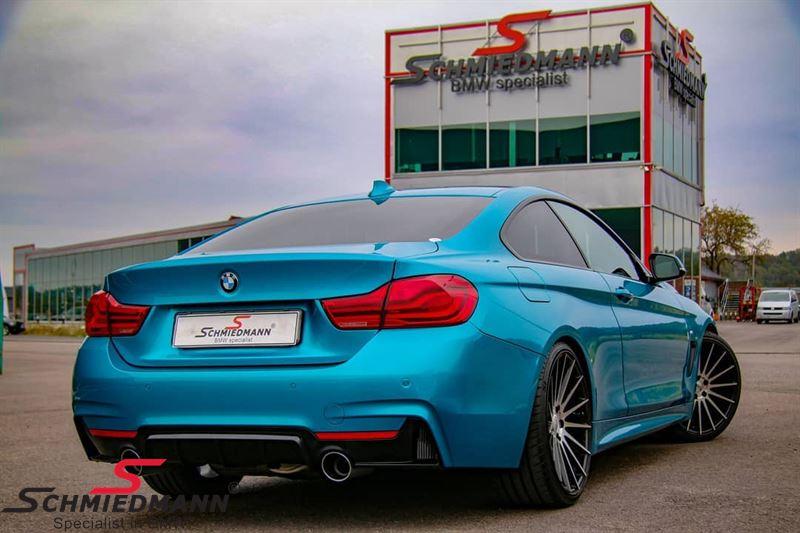 Hækskørte-indsats/diffusor -BMW ///M Performance- til M-Technic/M-Aerodynamic hækskørte