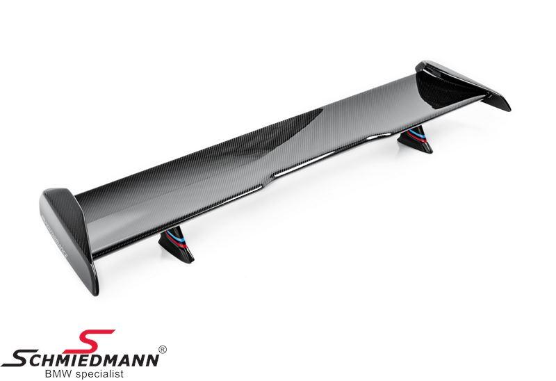 Hækspoiler -BMW ///M Performance- carbonfarvet - original BMW (Ekstra tilkøb er nødvendigt, se mere under detaljer)