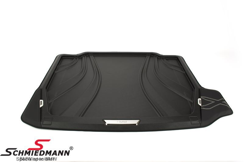 Trunk mat rubber with edges