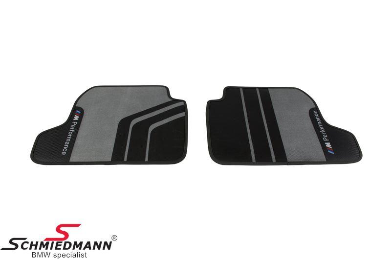 """Bundmåtter """"BMW ///M-Performance"""" bag, original BMW"""