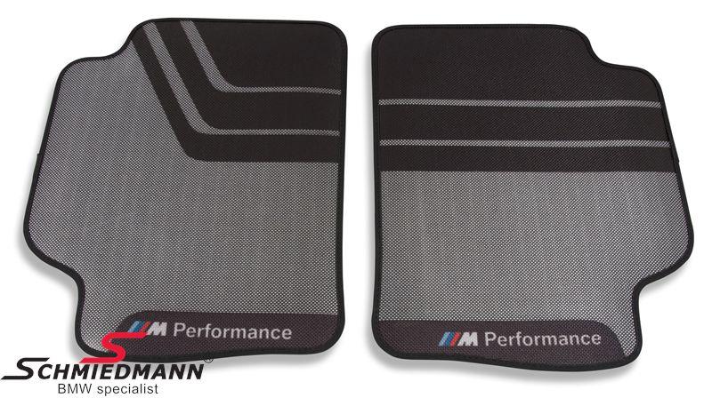 """Bundmåtter """"BMW M-Performance"""" bag, original BMW"""