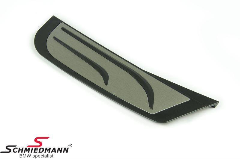 Fodstøtte rustfri stål -RHD højrestyret- org. BMW -M Performance-