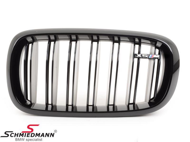 Nyre højglans sort original -BMW M Performance- V.-side