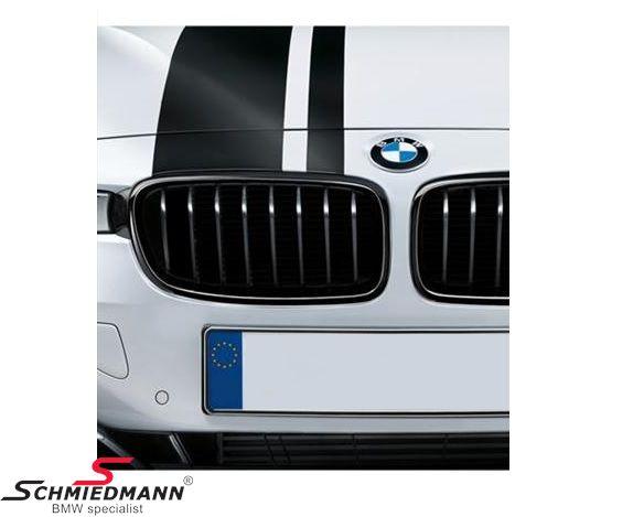Nyre højglans sort original -BMW ///M Performance- H.-side