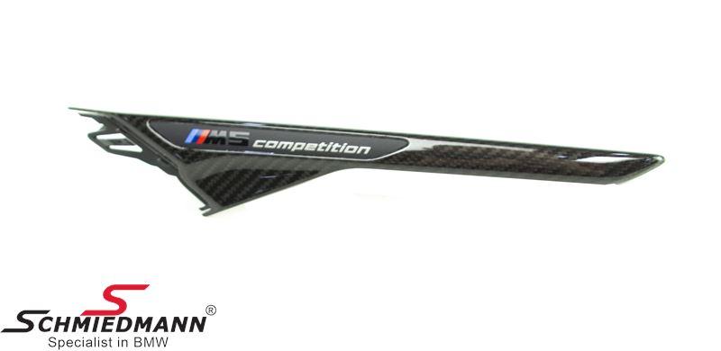 Gitter forskærm V.-side ///M-Performance ægte carbon