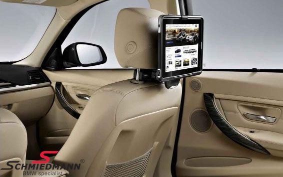 Mini Ipad holder original BMW - skal monteres bag på et forsæde