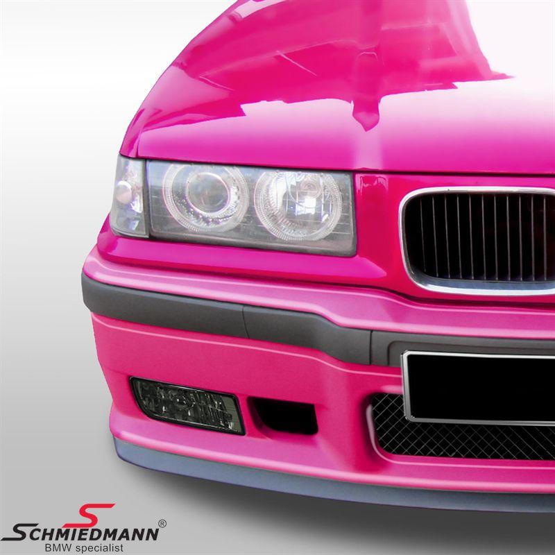 Frontspoiler Motorsport II inkl.gitter/læbe/stødlister -TILBUD-, tågelygter og luftkanaler medfølger ikke