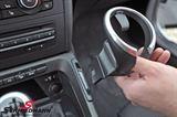 Kopholder sæt, for med sort blende til midterkonsollen, original BMW