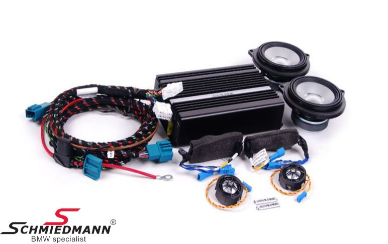 HiFi system Alpine mellemtoner/diskanter/forstærker - original BMW
