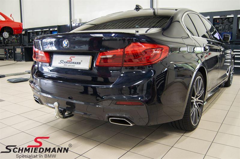 Anhængertræk elektrisk svingbart org. BMW (krogen svinger ind/ud)