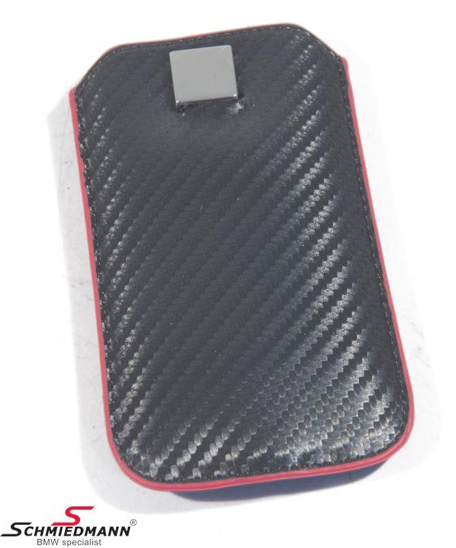 iPhone 5 læder etui -M///-