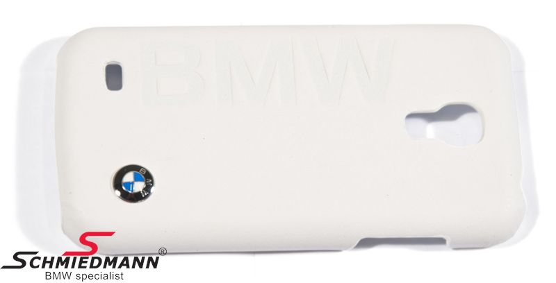 BMW Mobile Phone Hard Shell Case for Samsung Galaxy, White