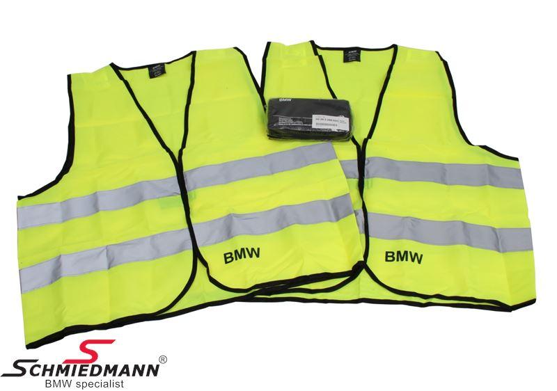 Sikkerhedsveste, sæt med 2 stk. - original BMW