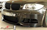 Rieger frontspoilerlæbe højglans sort skal ikke lakeres til M-Technik frontspoiler