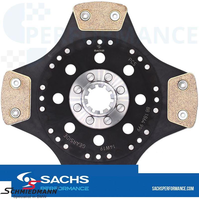 Sachs Performance sintermetal (Race) clutch plate D=228MM