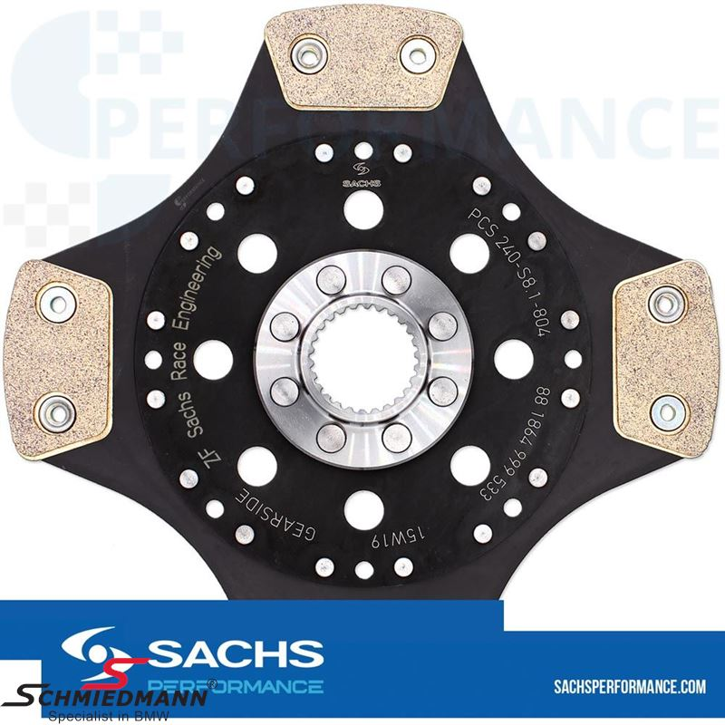 Sachs Performance sintermetal (Race) clutch plate D=240MM