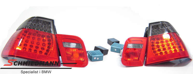 Baglygter LED rød/sorte facelift upgrade special design