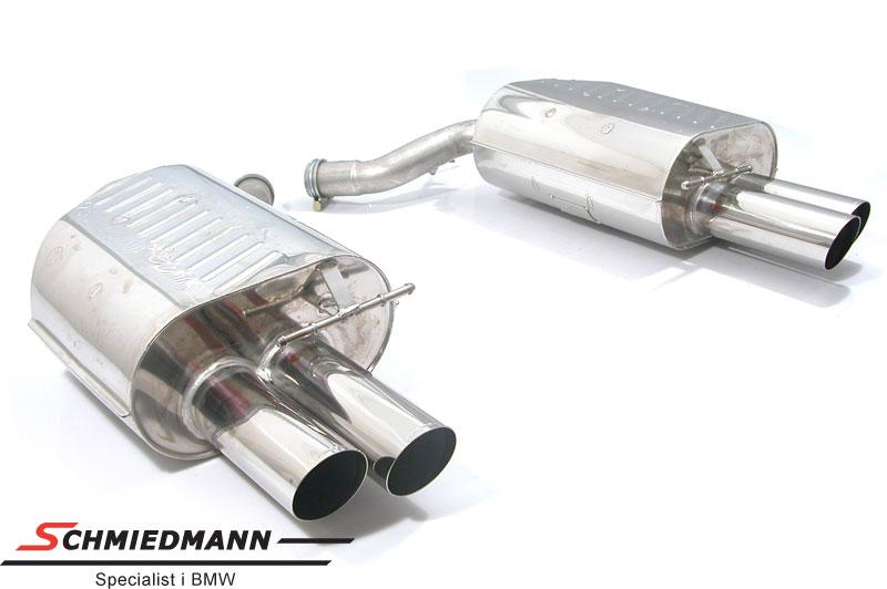 4 Rohr Eisenmann Sportsauspuffanlage in M5 look 4X83MM Endrohre
